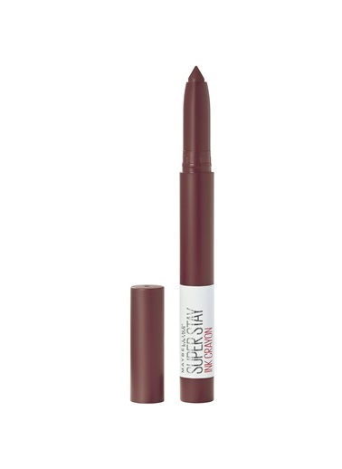 Maybelline Maybelline New York Super Stay Ink Crayon Kalem Mat Ruj - 05 Live On The Edge Bordo